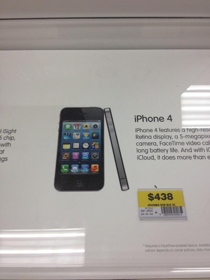 Wood, iPhone 4, Kmart, $449.00