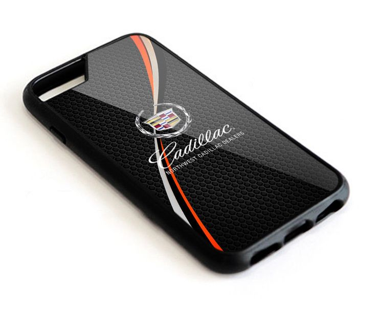 New Cadillac Logo Automotive iPhone 6 6s 7 8 X Plus Hard Plastic Case #UnbrandedGeneric