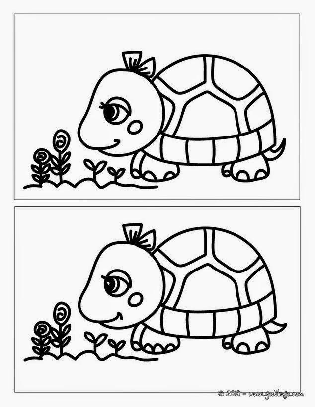 Maestra de Primaria: Busca las diferencias en todos estos dibujos. Fichas fotocopiables.