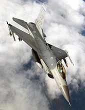 The General Dynamics F-16 Fighting Falcon is a multirole jet fighter aircraft originally developed by General Dynamics for the United States Air Force (USAF). Designed as an air superiority day fighter, it evolved into a successful all-weather multirole aircraft. Over 4,400 aircraft have been built since production was approved in 1976.