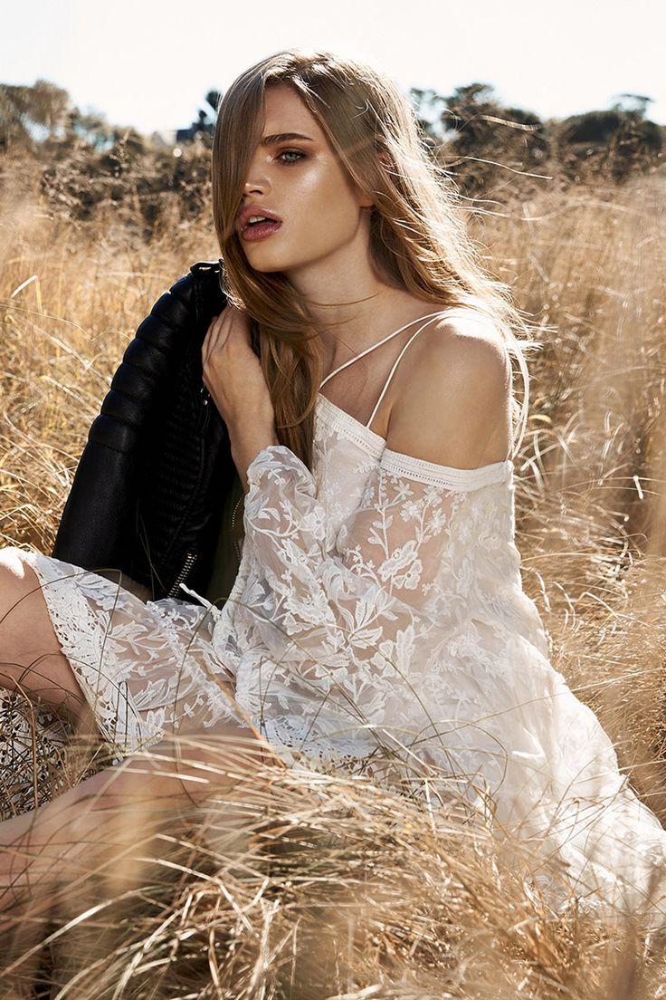 Stevie May Winged Dreams LS Mini Dress