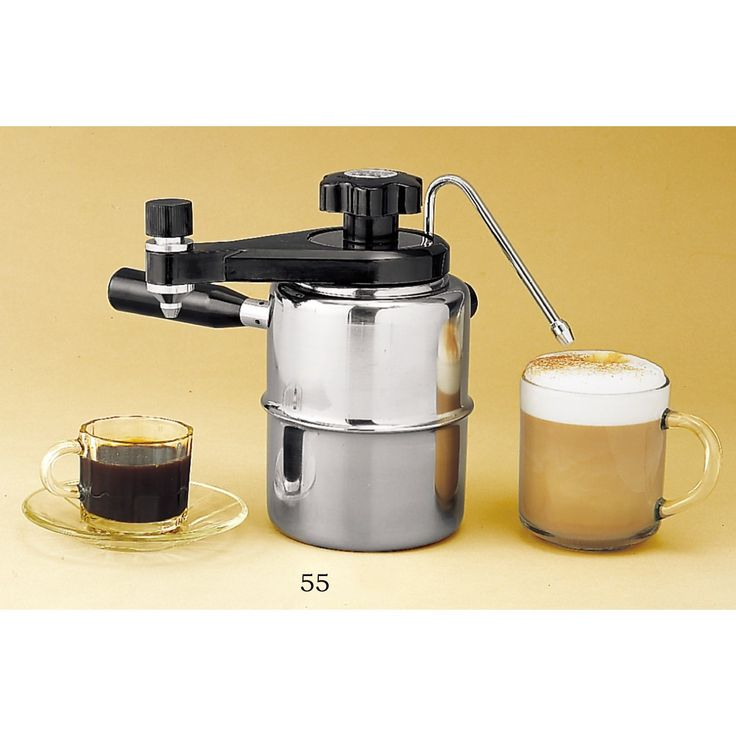 Stove-Top Espresso /Cappuccino Maker