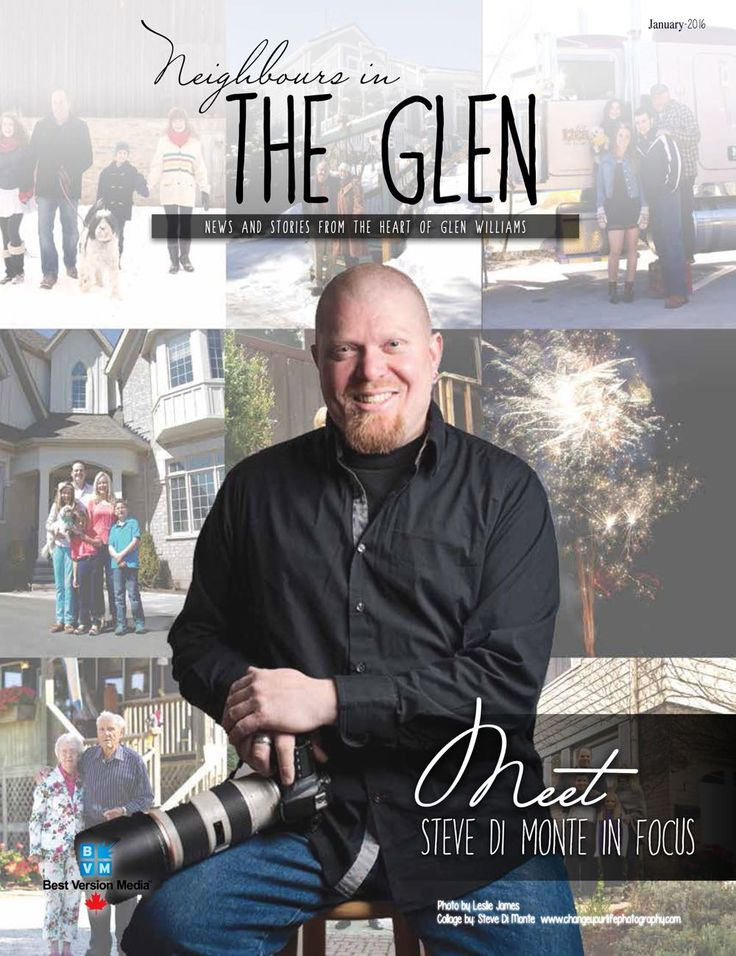Steve Di Monte Featured In The Neighbours In The Glen
