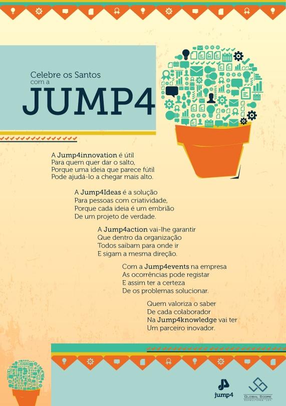 Quem valoriza o saber de cada colaborador na Jump4innovation vai ter um parceiro inovador!