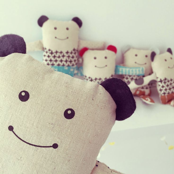 There's a bear in there! Introducing new cute and cuddly friends by Kristen Doran design. These little bears are made from organic cotton/hemp and come in copper, mint, red, ink blue, grey and charcoal. Available for wholesale order now. #organiccotton #hemp #madeinaustralia #handmade #thedesignersagency