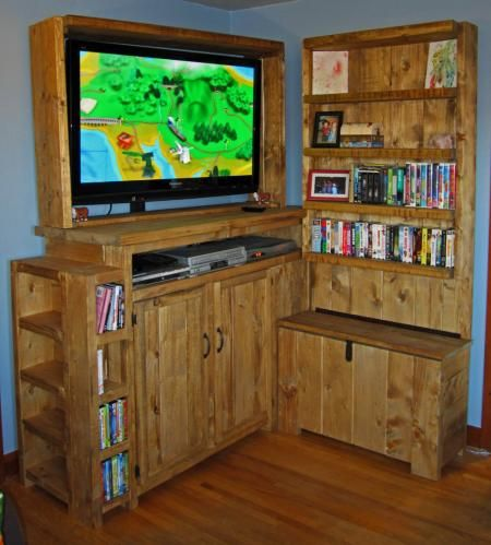 Ana White | Build a Toy Storage Entertainment Center | Free and Easy DIY Project and Furniture Plans