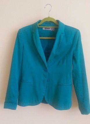 Kup mój przedmiot na #vintedpl http://www.vinted.pl/damska-odziez/marynarki-zakiety-blezery/17917177-marynarka-taliowana-stradivarius-w-kolorze-morskim