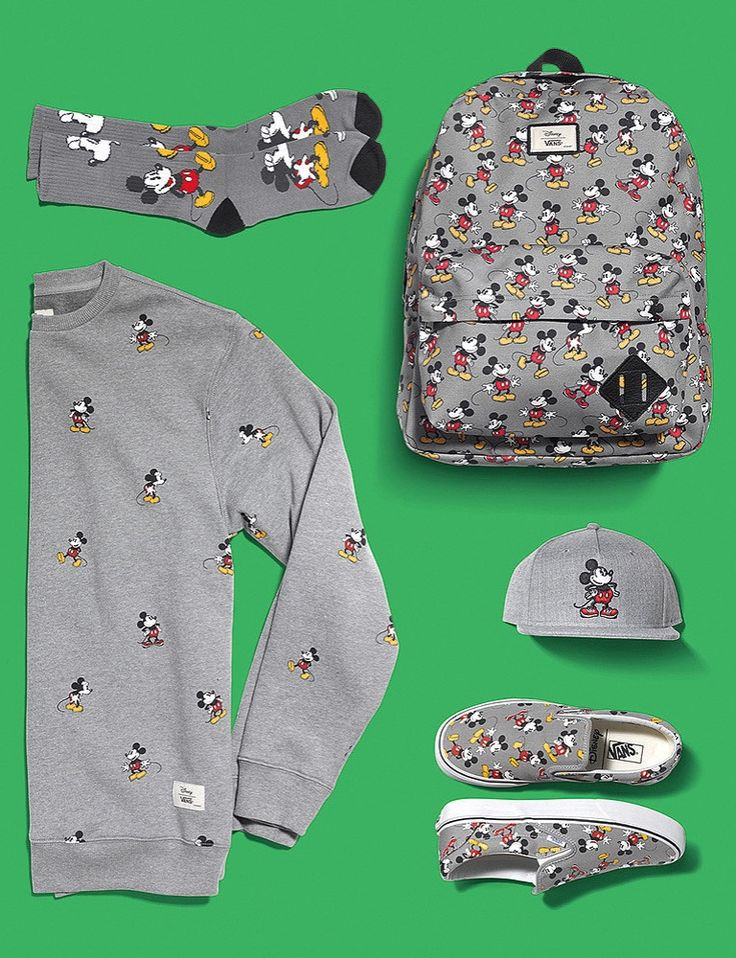 Your Inner Disney Fan Will Freak Out Over Vans' New Collection