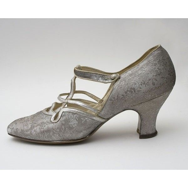 1920's Shoes- Flapper Shoes found on Polyvore