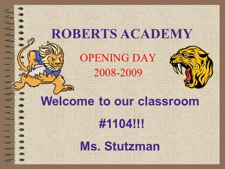 Welcome to Ms. Smith's 6th Grade Class! - ppt download