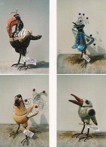 Gekke En Vrolijke Vogels Van Keramiek te Koop Aangeboden op Tweedehands.net