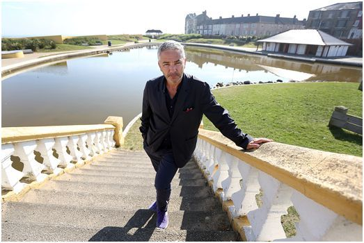 #Redcar #Commercial #Photographer | Cllr Mark Hannon beside the Redcar Lake Area which is available for a Lease Term. © 2014 Dave Charnley Photography Ltd  Mobile: 07753 559235 Office: 01642586269 www.davecharnleyphotography.com