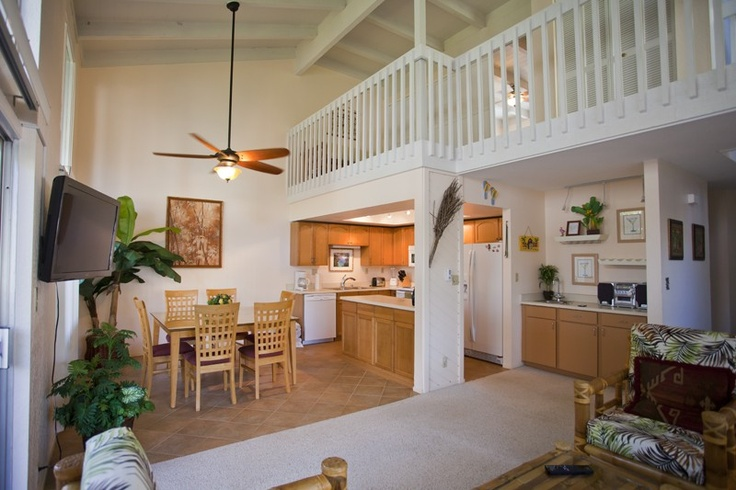 $125 Free wifi,   Blender, 2 bedroom/ 2 bath + Loft - Master w/ King   Lanai with sitting area and garden view, Balcony on 2nd floor with partial Ocean View, Gas BBQ, Swimming pool, Beach Supplies, 3 boogie boards, 3 adult and a child Snorkel Sets, Coleman cooler, 2 beach chairs, Beach umbrella, Beach towels, 4 individual beach mats
