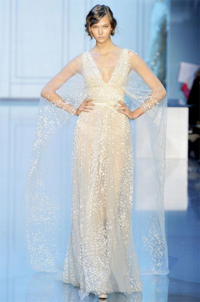 Elie Saab fall couture collection. I am speechless.
