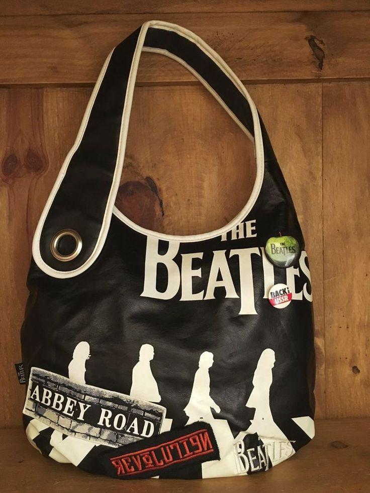 THE BEATLES Boho Style Shoulder Bag 2007 Apple Corps Ltd  Authentic  #ShoulderBag