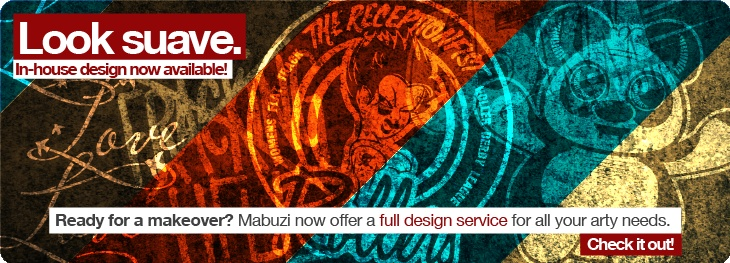 Mabuzi now offers a design service.