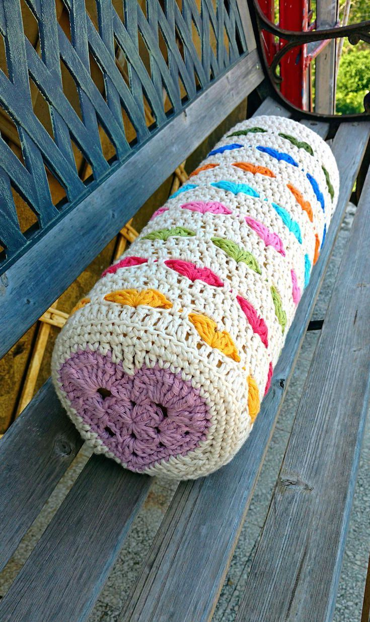 Crochet Your Way To Sleep With These 8 Crochet Bolster Patterns