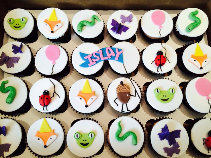 Critter cupcakes!