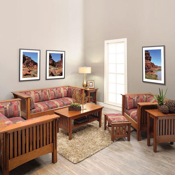 Amish Sofas   Mission Sofas   Mission Style Sofa