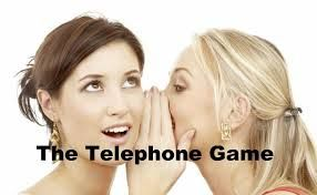 Image result for THE TELEPHONE GAME