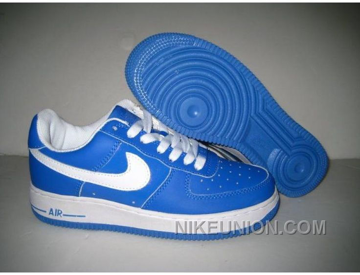 http://www.nikeunion.com/nike-air-force-1-blue-white-white-online.html NIKE AIR FORCE 1 BLUE WHITE WHITE ONLINE Only $58.44 , Free Shipping!