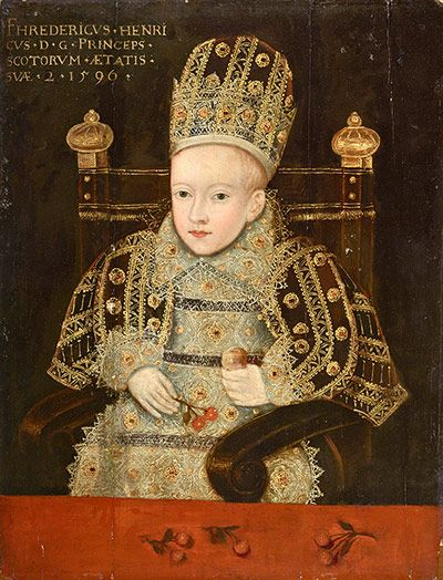 Prince Henry Stuart When an Infant, unknown artist, 1596