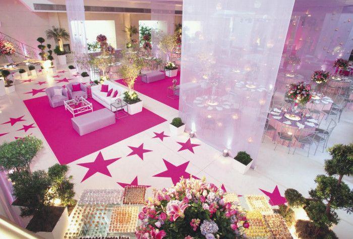 decoracao festa de 15 anos 19 Festas de 15 anos temáticas   Dicas de decoração