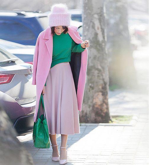 Galant-Girl Ellena - Asos Mary Jane Shoes - Pink Dreams.