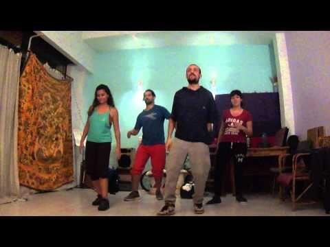 #16 Iván Ferrero Percusión Corporal // Body Percussion - Manos, Pies y Combinados. 4/11/14 - YouTube