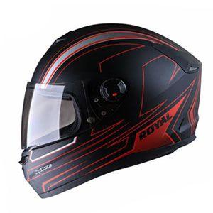 Mũ bảo hiểm fullface Royal M07 đen đỏ nhám
