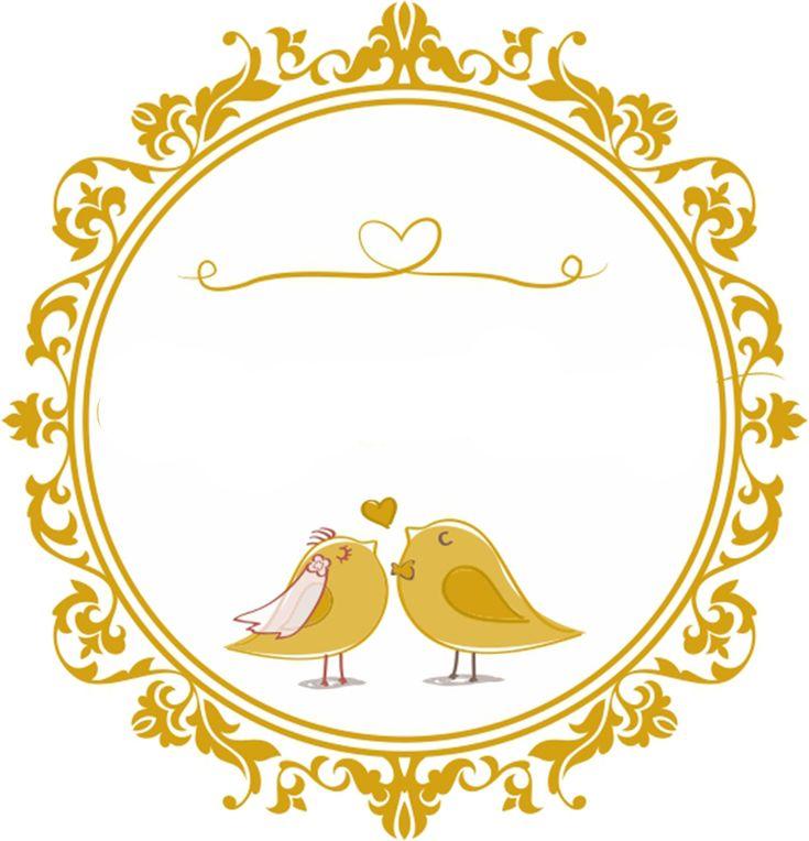 Логотип на свадебную открытку