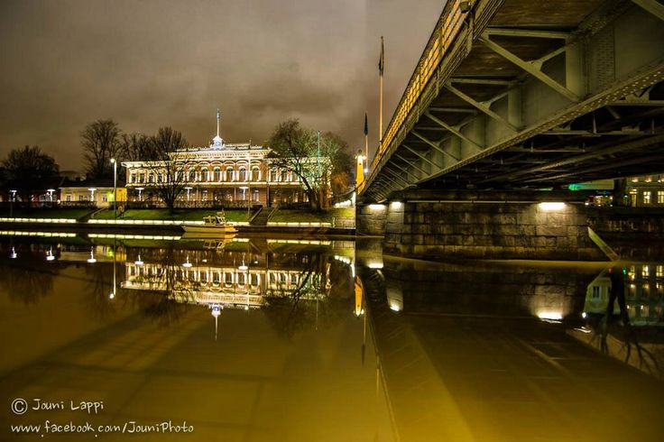 Turku, the oldest city in Finland