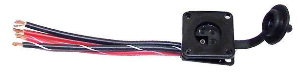 Atwood 87928 4 Prong Electric Jack Female Connector Single Prong Atwood Female