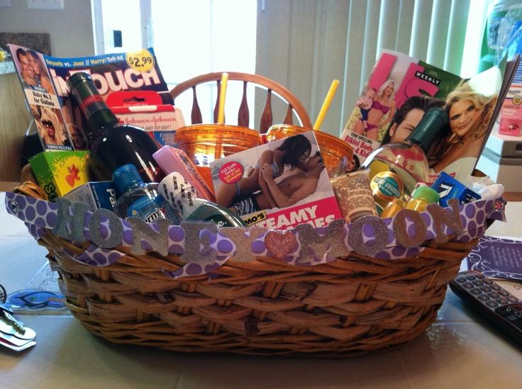 49 Best The Honeymoon Basket Images On Pinterest