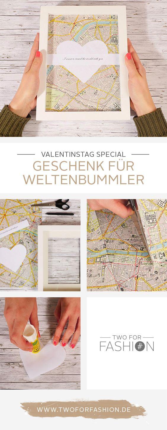 Ihr seid noch auf der Suche nach einem individuellen und persönlichen Liebesbeweis für euren Liebsten zum Valentinstag? Wie wäre es mit diesem tollen Geschenk für Weltenbummler?