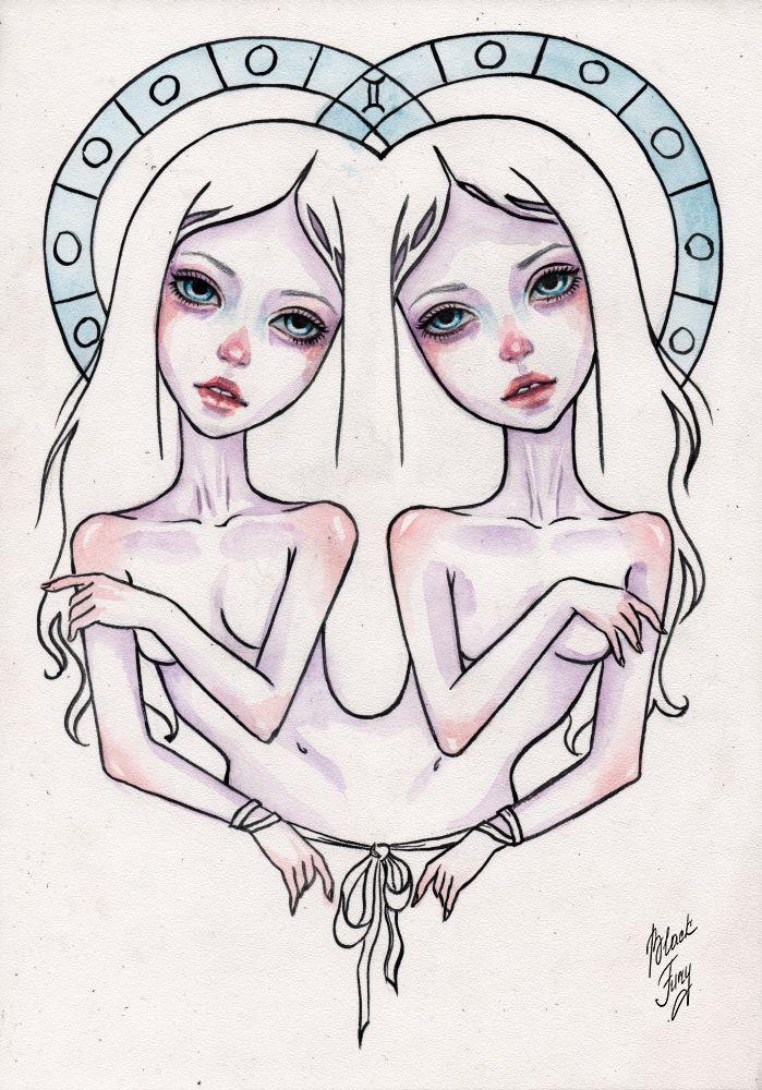 gemini by BlackFurya.deviantart.com on @DeviantArt