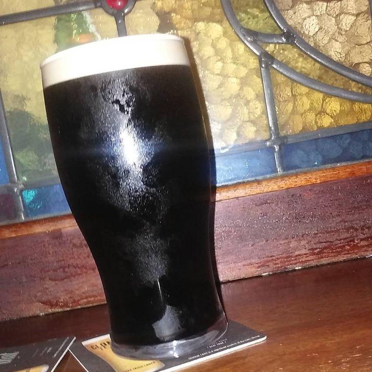 ...meet my Uncle Arthur! He's looking well, isn't he? #easter2016 #dublin #guinness #pintofplain #yeronlyman #black #genius #theperfectpint #chaplinsbar #booze #instapint #beer #guinnessisgoodforyou #beersoftheworld #ireland