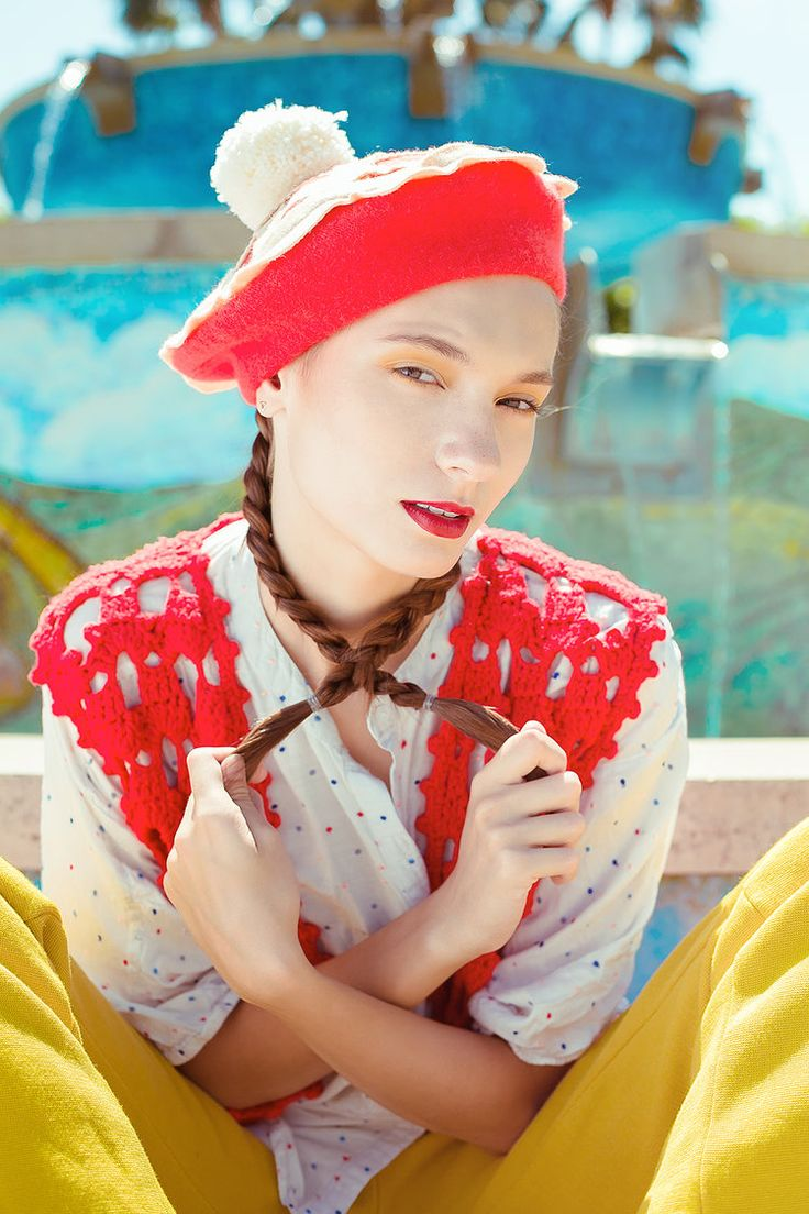 Cutie Pie Beret by Elleni the Label  @irrisrray Photography @yuliia_kurochka Model @shermymakeup MUA