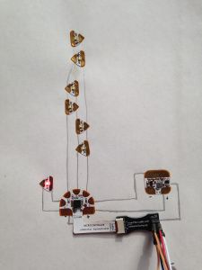 Katie Gero's blog explores paper circuits, which she used to create an interactive mural!