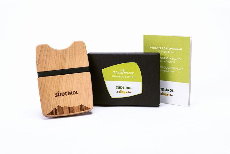 Die Wood.Mate Brieftasche gibt es auch in einer ganz besonderen Spezialversion: Die Südtirol Edition, aus zertifiziertem Südtiroler Kirschholz, ist mit der Südtiroler Schutzmarke personalisiert und ein Stück Südtiroler Liebe zur Heimat.     #woodmate #südtirol #altoadige #produktdesign