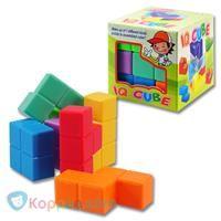 Magische IQ Kubus - Koppen.com Magische IQ Kubus. Maak de kubus uit de zeven stukjes. Een echte breinkraker om alle 150 (!) mogelijke oplossingen te vinden. Geschikt voor kinderen vanaf drie jaar. Leuke vorm van brein puzzels. - See more at: http://www.koppen.com/producten/product/magische-iq-kubus#sthash.FI49TJ7v.dpuf