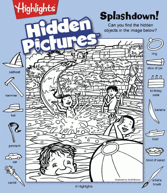 hidden pictures highlights - Google keresés