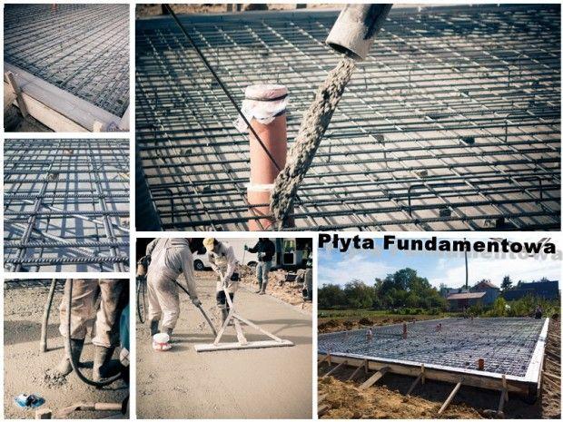 Fundament to podstawa! #budowa #budowadomu #fundament #fundamenty #płytafundamentowa #beton