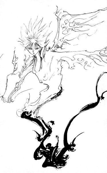 Tags: Anime, Yu Yu Hakusho, Hiei, Togashi Yoshihiro