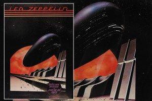 Led Zeppelin 1977 poster