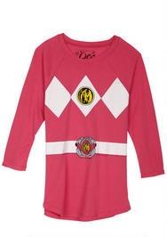Pink Power Ranger Costume Tee