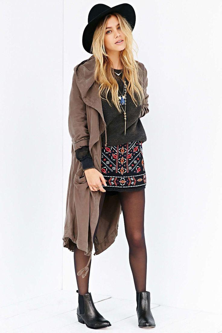Ecote Nattie Embroidered Mini Skirt | My Style
