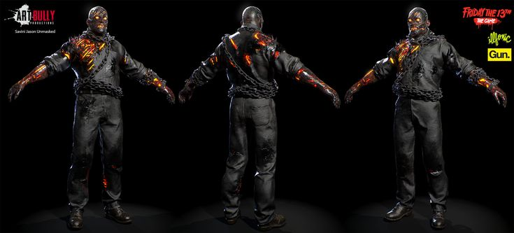 ArtStation - Friday The 13th: The Game - Jason Versions, Art Bully Productions