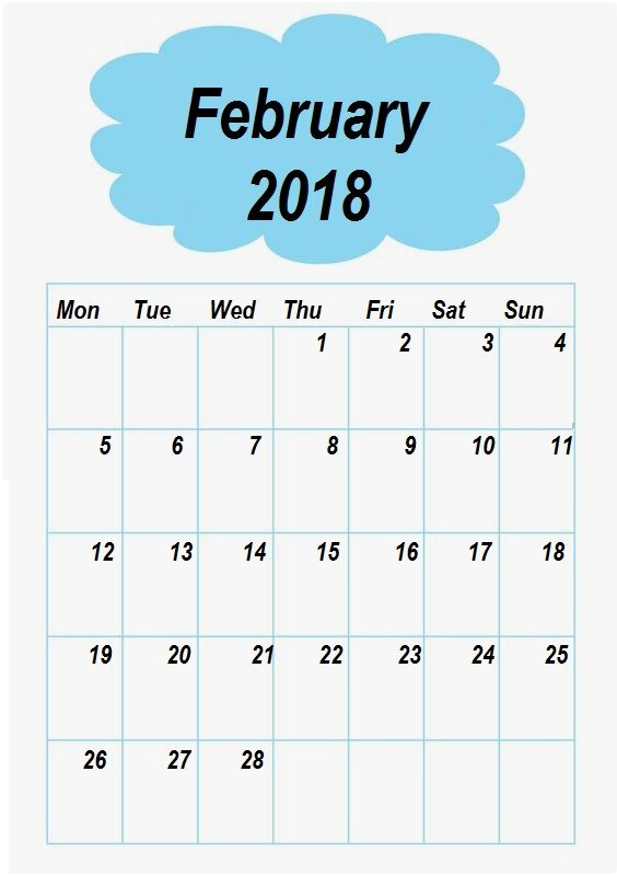 The  Best Blank Monthly Calendar Template Ideas On