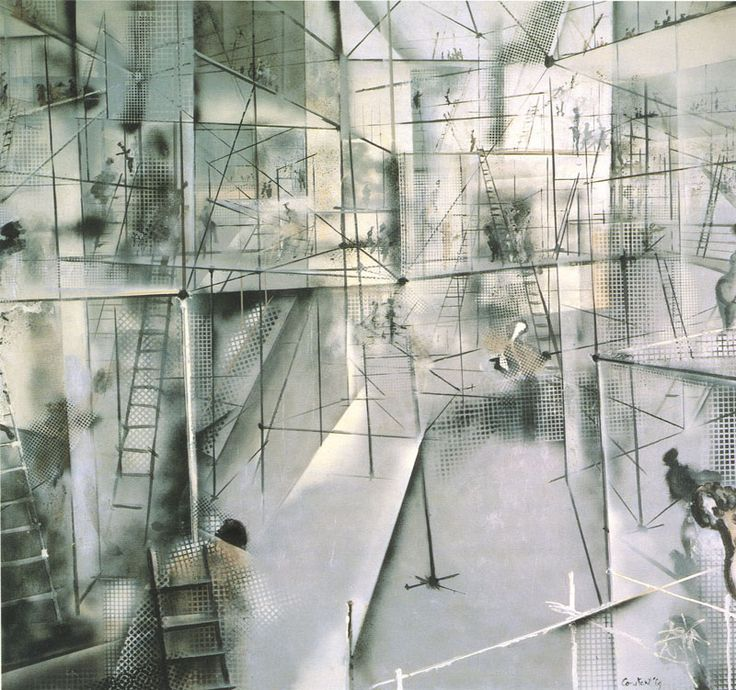 LABYRINTHINE ARCHITECTURES /// New Babylon by Constant / Drawings ...